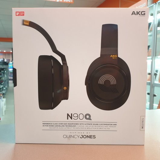 AKG N90Q by Harman - Casti cu Active Noise Cancelling si Auto Calibrare TruNote Reference Class