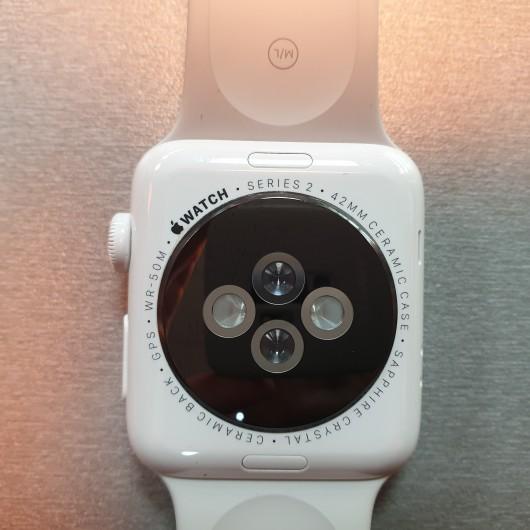 Apple Watch Series 2 - 42 mm - Ceramic White