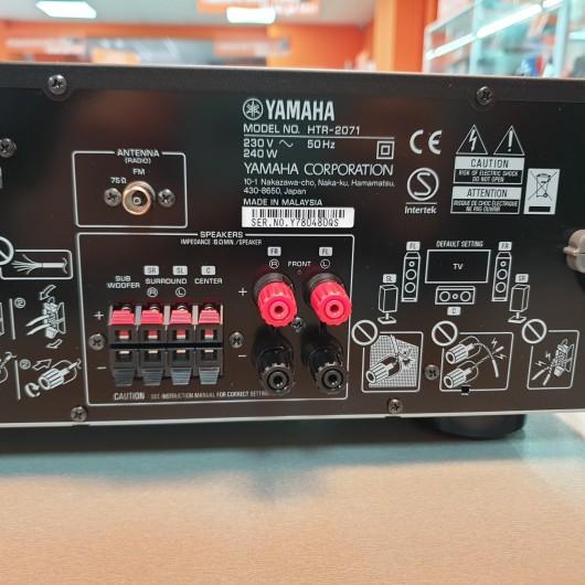 AV Receiver 5.1 Yamaha HTR-2071, 70W / 6 OHm, Bluetooth, 4K UHD, 4x HDMI