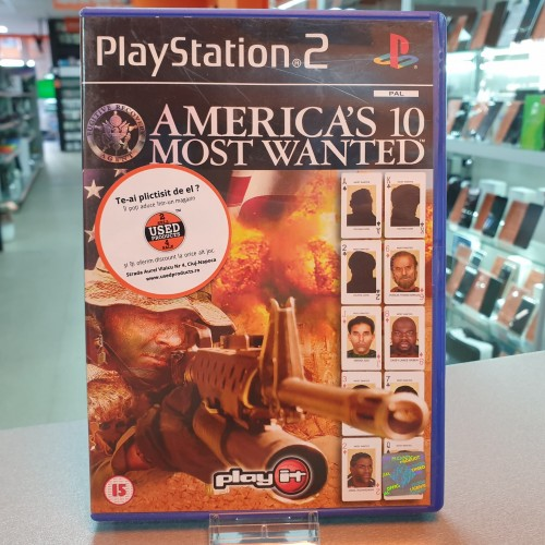 America's 10 Most Wanted - Joc PS2