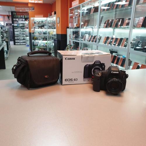Aparat Foto Canon 6D + Obiectiv 50 mm 1:1.8 II
