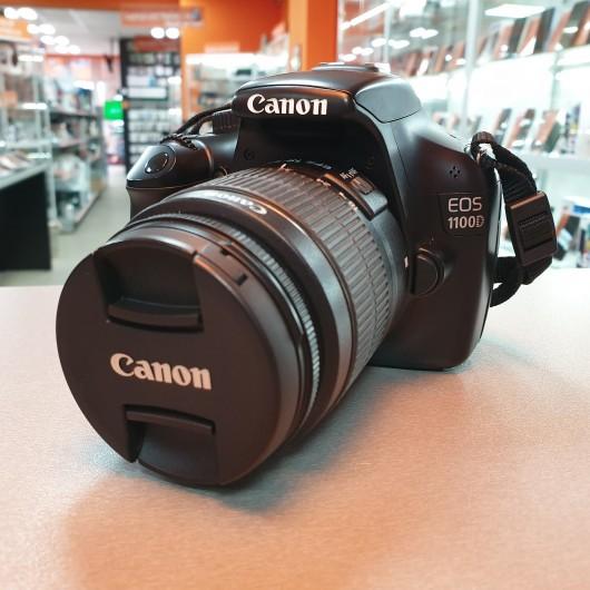 Aparat Foto Canon EOS 1100D + Obiectiv Canon EFS 18-55 mm