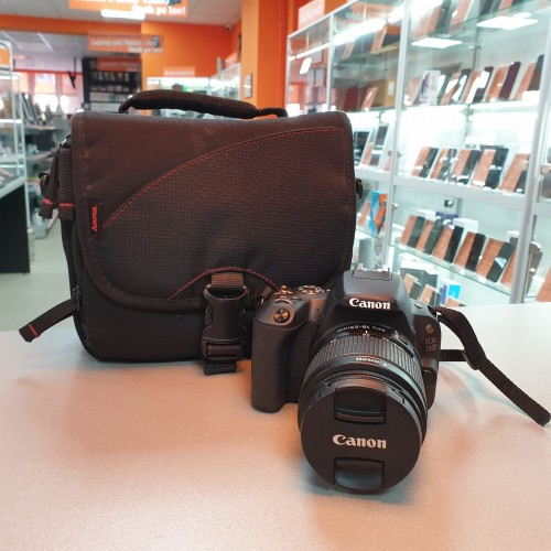 Aparat Foto Canon EOS 200D + Obiectiv Canon 18-55mm 1:3.5-5.6 III