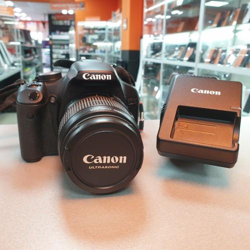 Aparat Foto Canon EOS Rebel T1i + Obiectiv 18-55mm
