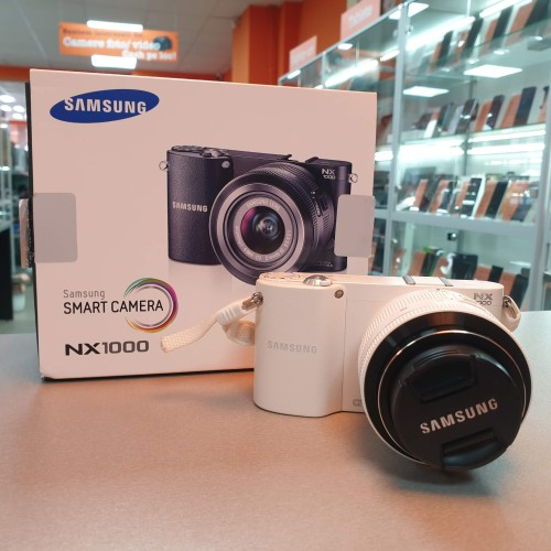 Aparat Foto Mirrorless Samsung NX1000 + Obiectiv 20-50 mm