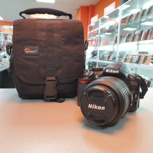 Aparat Foto Nikon D3100 + Obiectiv Nikon DX 18-55mm 1:3.5-5.6 G