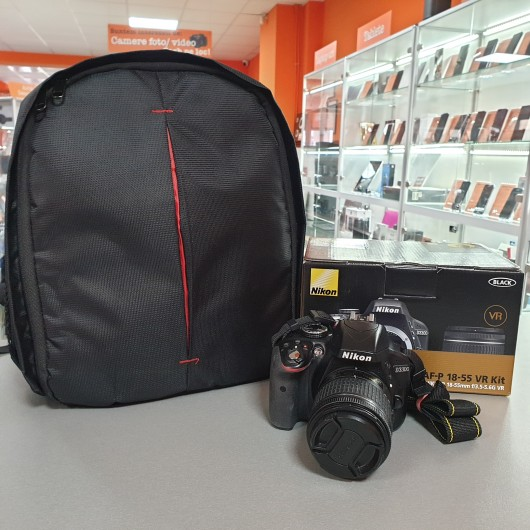 Aparat Foto Nikon D3300 + Obiectiv 18-55 mm