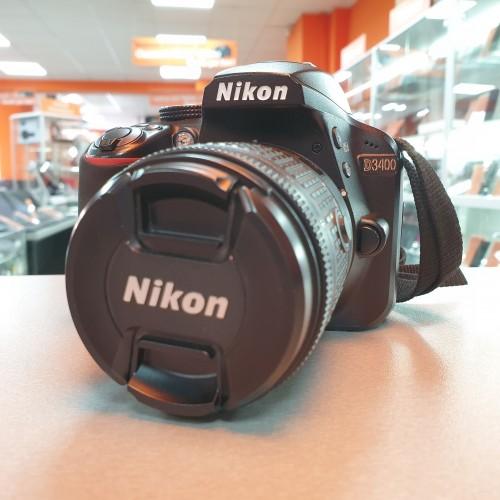 Aparat Foto Nikon D3400 + Obiectiv 18-55mm