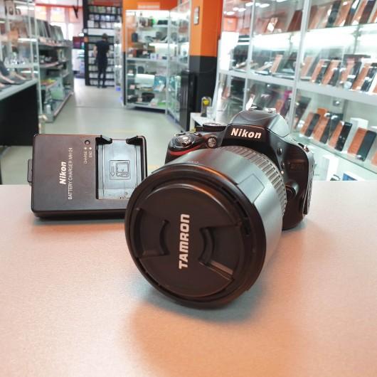 Aparat Foto Nikon D5100 + Obiectiv Tamron 70-300 mm