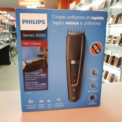 Aparat de tuns Philips Series 5000 Hair Clipper HC5632/15