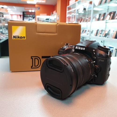 Aparat foto Nikon D7100 + Ob. Sigma 17-50mm 1:2.8 EX HSM