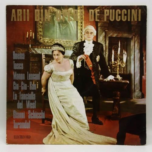 Arii din opere de Puccini - Disc vinil