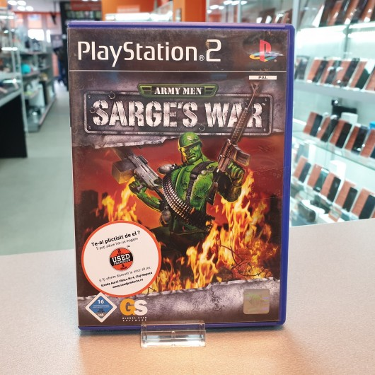 Army Men Sarge's War - Joc PS2