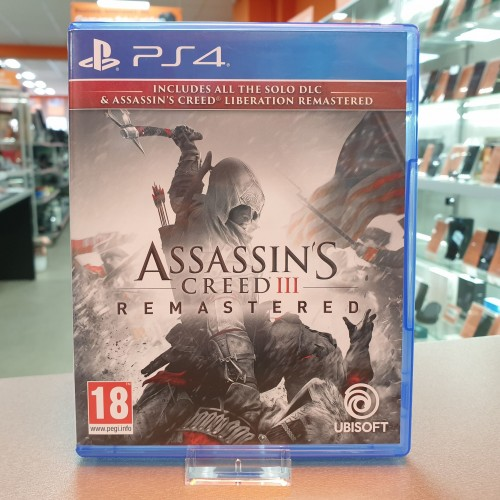 Assassin's Creed III - Remastered - Joc PS4