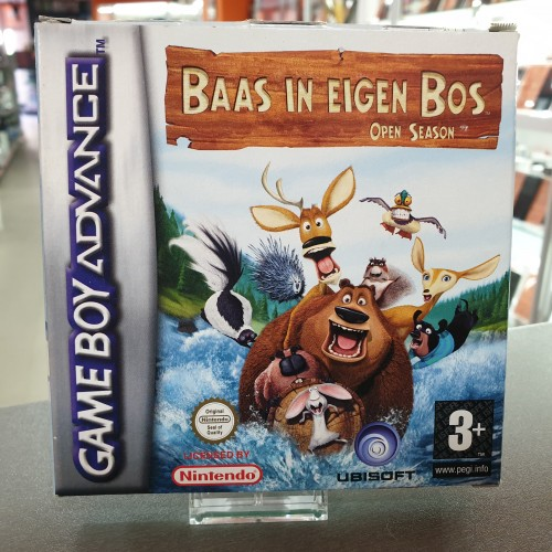 Baas In Eigen Bos Open Season - Joc Gameboy Advance