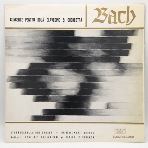 Bach - Concerte pentru doua clavecine si Orchestra - Disc vinil