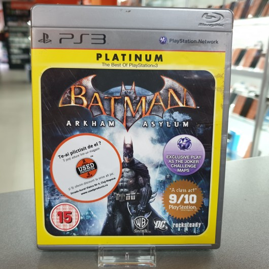 Batman Arkham Asylum - Joc PS3