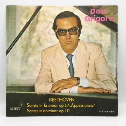 Beethoven - Dan Grigore, pian - Disc vinil