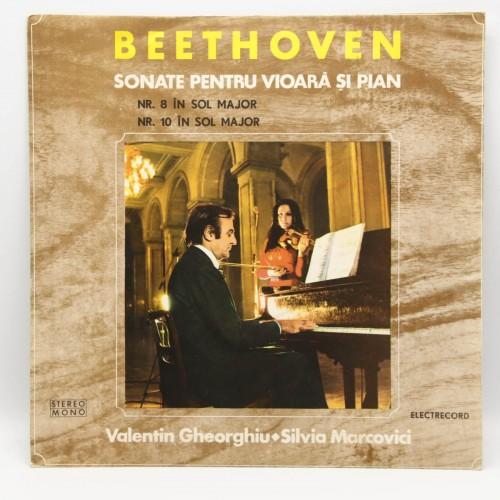 Beethoven - Sonate pentru vioara si pian - Disc vinil