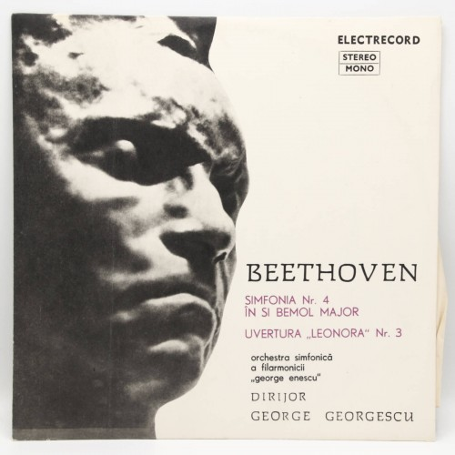 Beethoven Simfonia 4 - Filarmonica George Enescu - Disc vinil