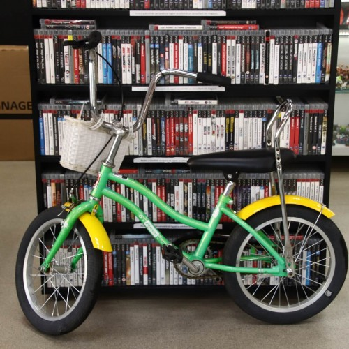 Bicicleta copii, Pegas Mezin Verde Oac Oac, 16 inch, cadru 9 inch
