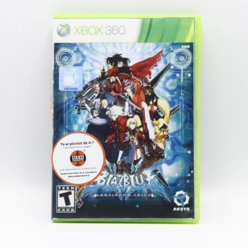 Blazblue Continuum Shift - Joc Xbox 360