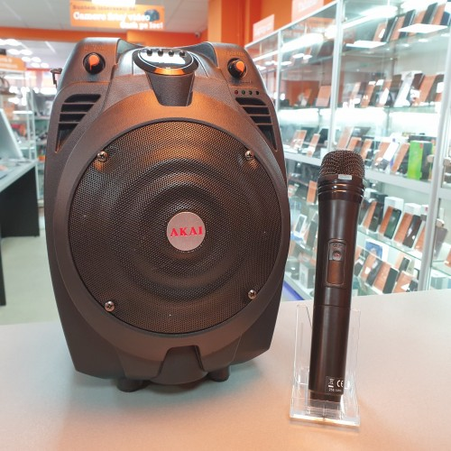 Boxa portabila + Microfon Akai SS022A-X6