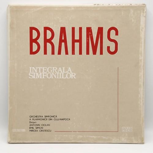 Brahms - Integrala Simfoniilor - Disc vinil
