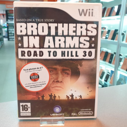 Brothers in Arms Road to Hill 30 - Joc Nintendo WII