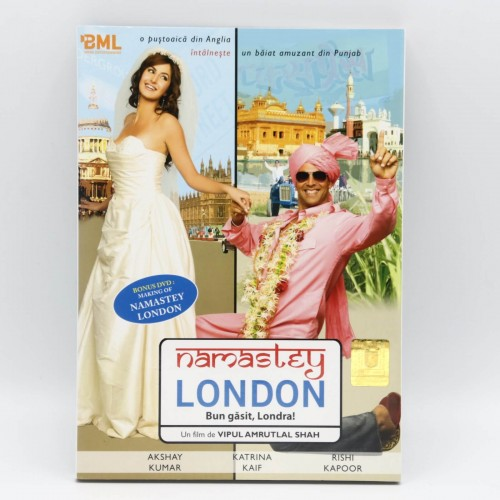 Buna Gasit, Londra! / Namastey London - DVD Filme