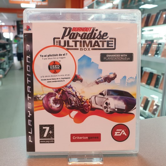 Burnout Paradise The Ultimate Box - Joc PS3