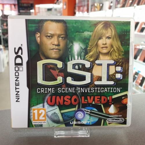 CSI Crime Scene Investigation Unsolved! - Joc Nintendo DS