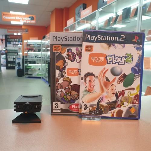 Camera PS2 + 2xJoc PS2