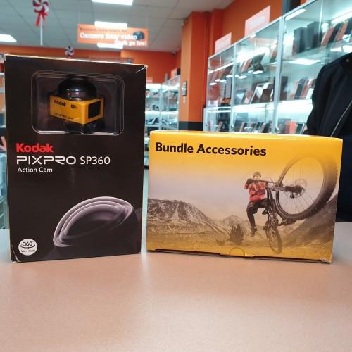 Camera actiune Kodak Pixpro SP360 FullHD Extreme Pack