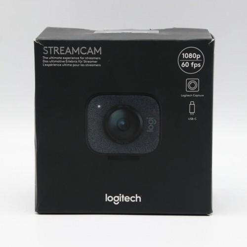 Camera web Logitech StreamCam, 1080p, USB-C