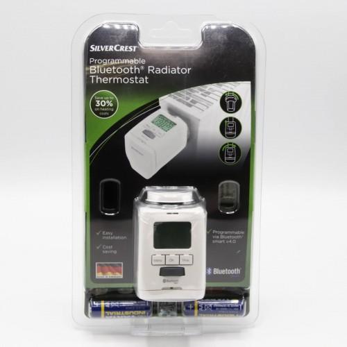 Cap termostat pentru calorifer SilverCrest, Digital, Bluetooth