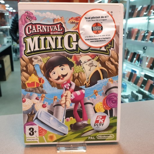 Carnival Games Mini Golf - Joc Nintendo WII