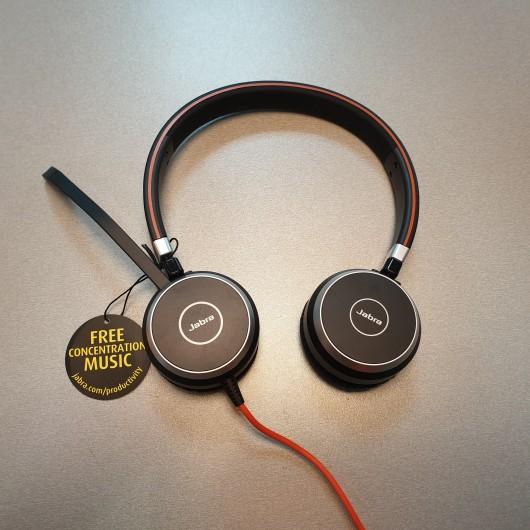 Casti Audio In-Ear Jabra Evolve 40 ENC010
