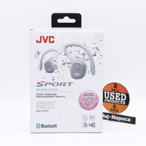 Casti audio In-Ear JVC HA-ET45T, Bluetooth, True Wireless