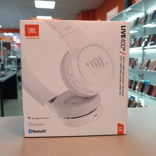 Casti audio On-Ear JBL Live 400BT Bluetooth, Microfon