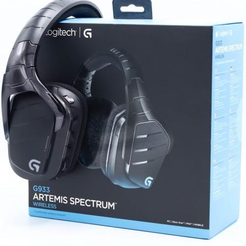 Casti gaming Logitech G933 Artemis Spectrum, Wireless, 7.1 Surround
