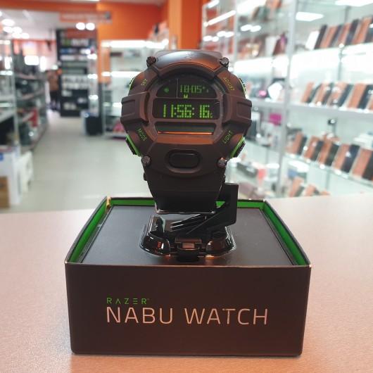 Ceas Razer Nabu - Black Lime