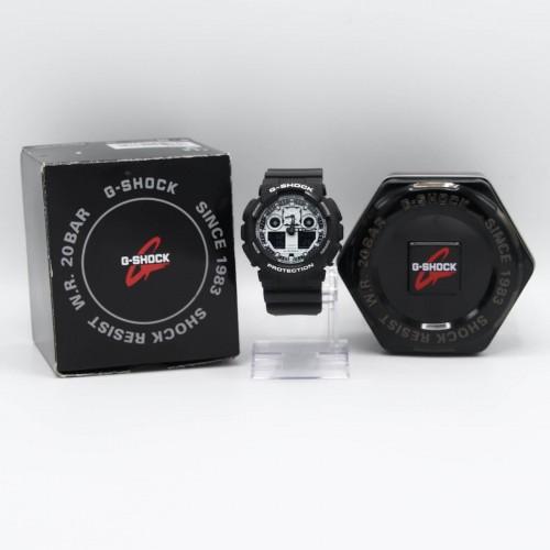 Ceas barbatesc Casio G-Shock GA-100BW