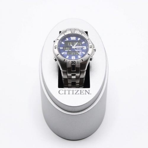 Ceas barbatesc Citizen Marinaut Sapphire C460-S009111 HST - 30 mm, Quartz