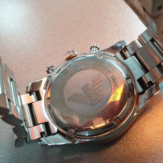 Ceas barbatesc Emporio Armani AR-5932, Chronograph, Quartz
