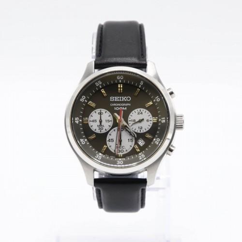 Ceas barbatesc Seiko Chronograph 4T53-00B0 - 43 mm, Quartz
