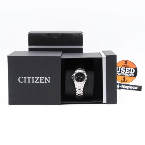 Ceas dama Citizen Eco-Drive Super Titanium EW0650-51F, Quartz