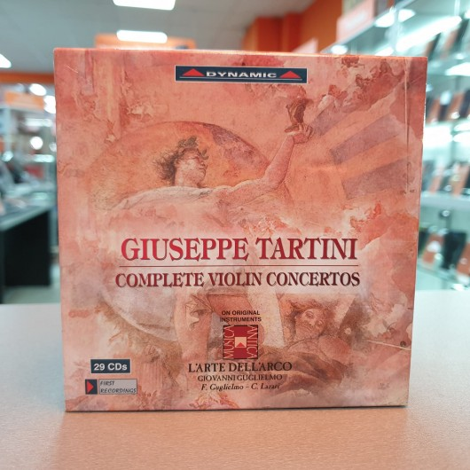 Colectie 29 CDs Concert Vioara Giuseppe Tartini
