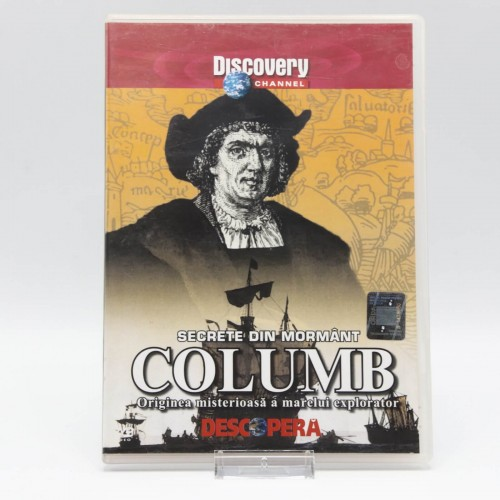 Columb - Secrete din Mormant - DVD Filme