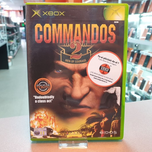 Commandos 2 Men of Courage - Joc Xbox Classic